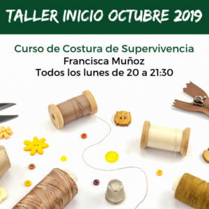 CURSO DE COSTURA DE SUPERVIVENCIA